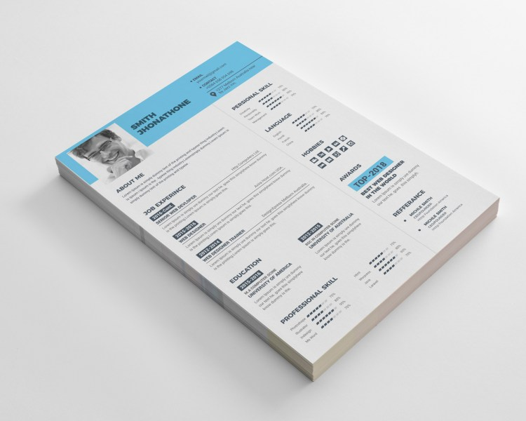 Classic Resume CV Design Templates