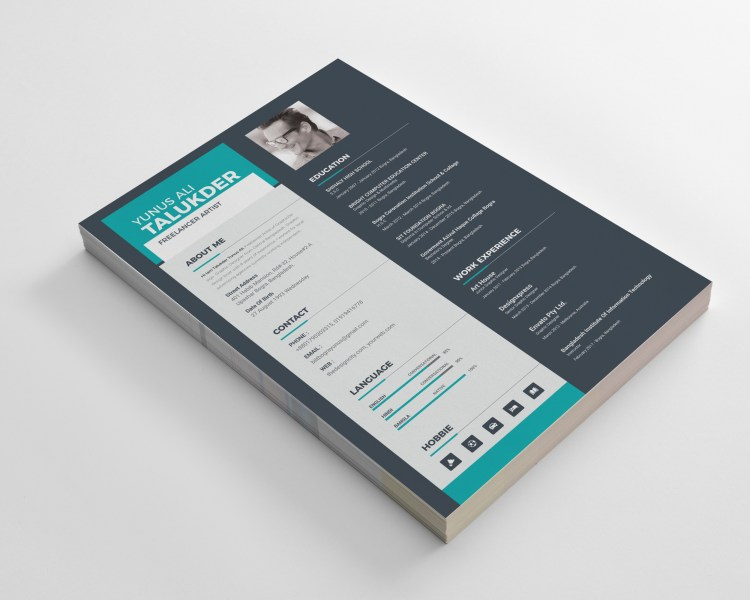 Elegant Resume CV Design Templates