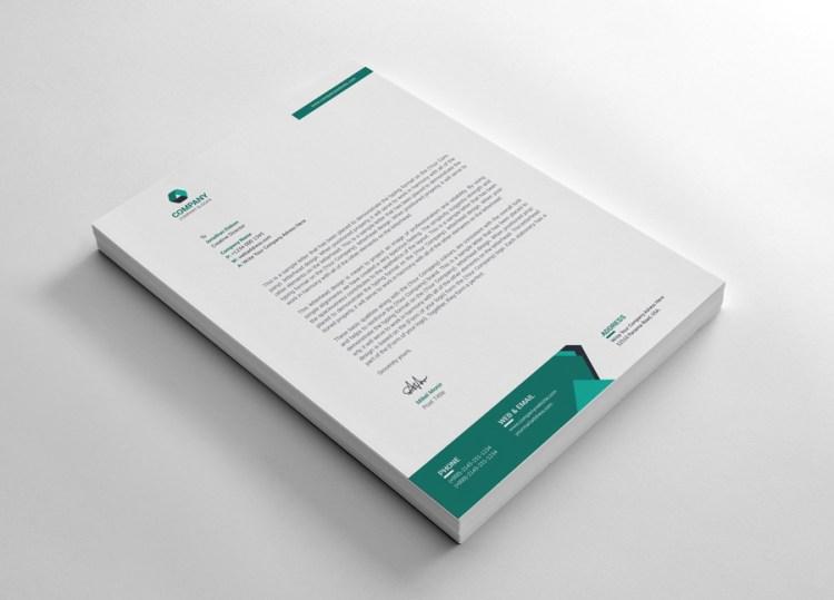 Enterprise Letterhead Design Template
