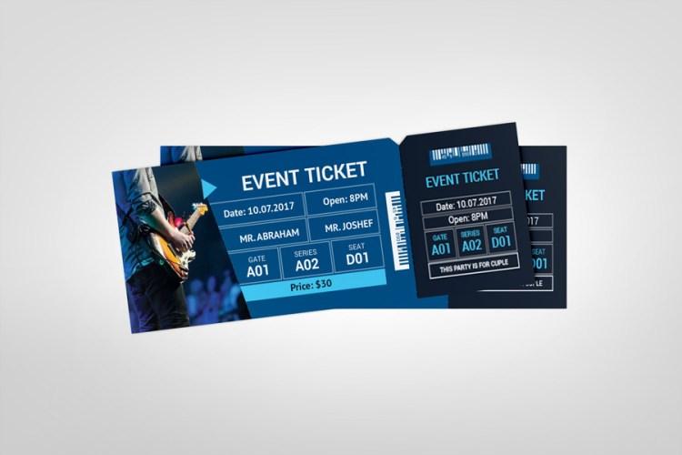 Best Event Ticket Template