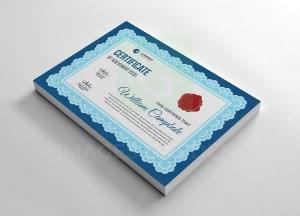 Classic Vector Certificate Template