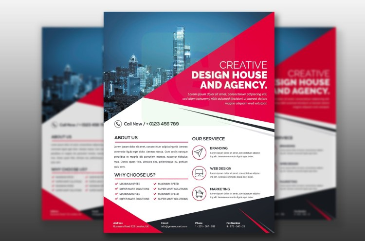 PSD Modern Business Flyer