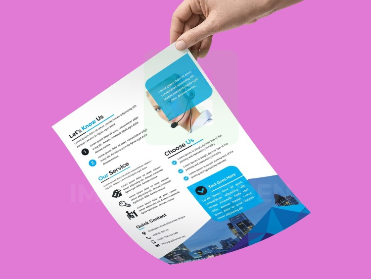 PSD Sleek Business Flyer