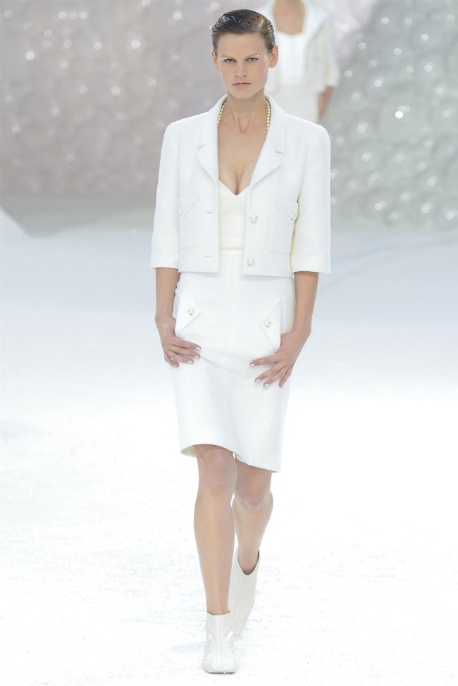 chanel1 Chanel Spring 2012   Paris Fashion Week