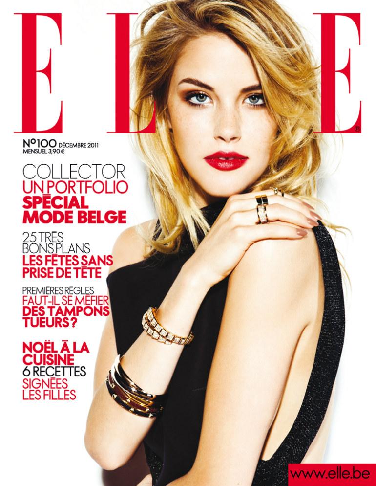 ashley smith1 Ashley Smith by Hicham Riad for <em>Elle Belgium</em> December 2011