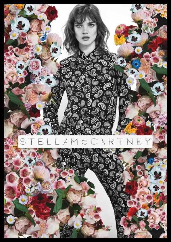 stella mccartney4 Natalia Vodianova for Stella McCartney Spring 2012 Campaign by Mert & Marcus