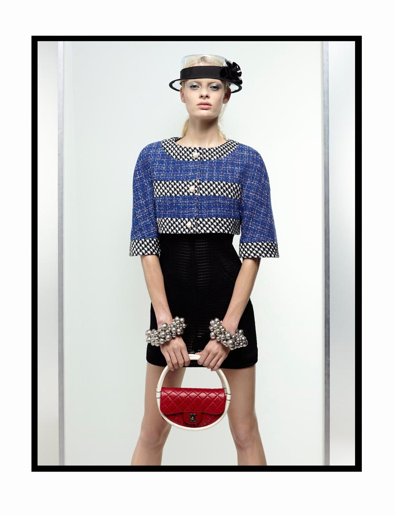 chanel2 Chanel Spring 2013 Lookbook by Karl Lagerfeld
