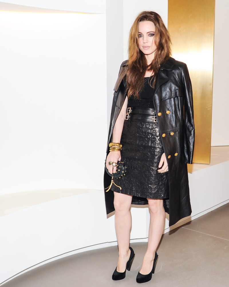 versace10 Doutzen Kroes, Lady Gaga, Coco Rocha and Others Step Out for Versaces SoHo Store Opening
