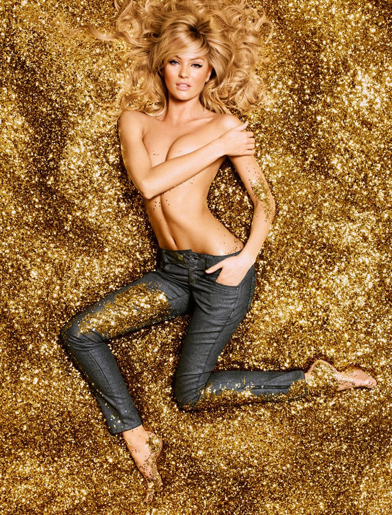 candice swanepoel1 Candice Swanepoel is Golden Sexy for Colccis Luxury Campaign by Fabio Bartelt