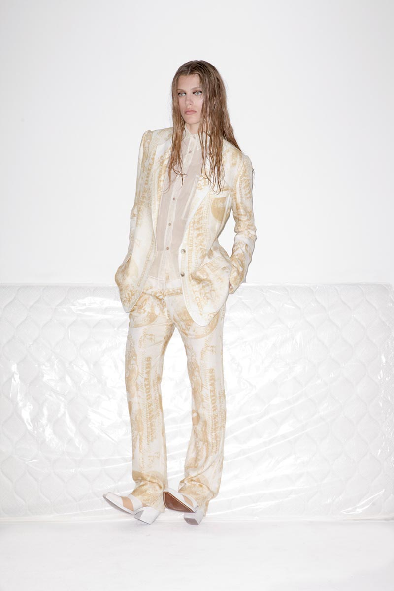 acne1 Acnes Resort 2013 Collection Offers Currency as Prints