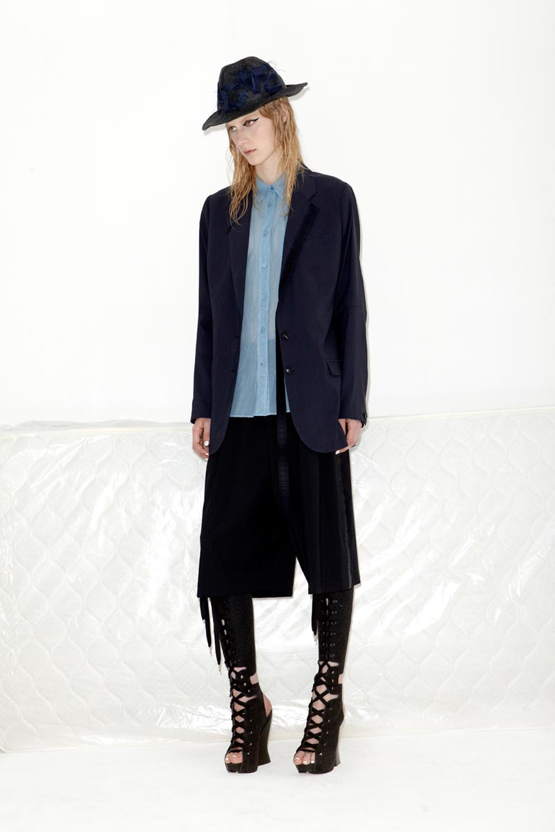 acne10 Acnes Resort 2013 Collection Offers Currency as Prints