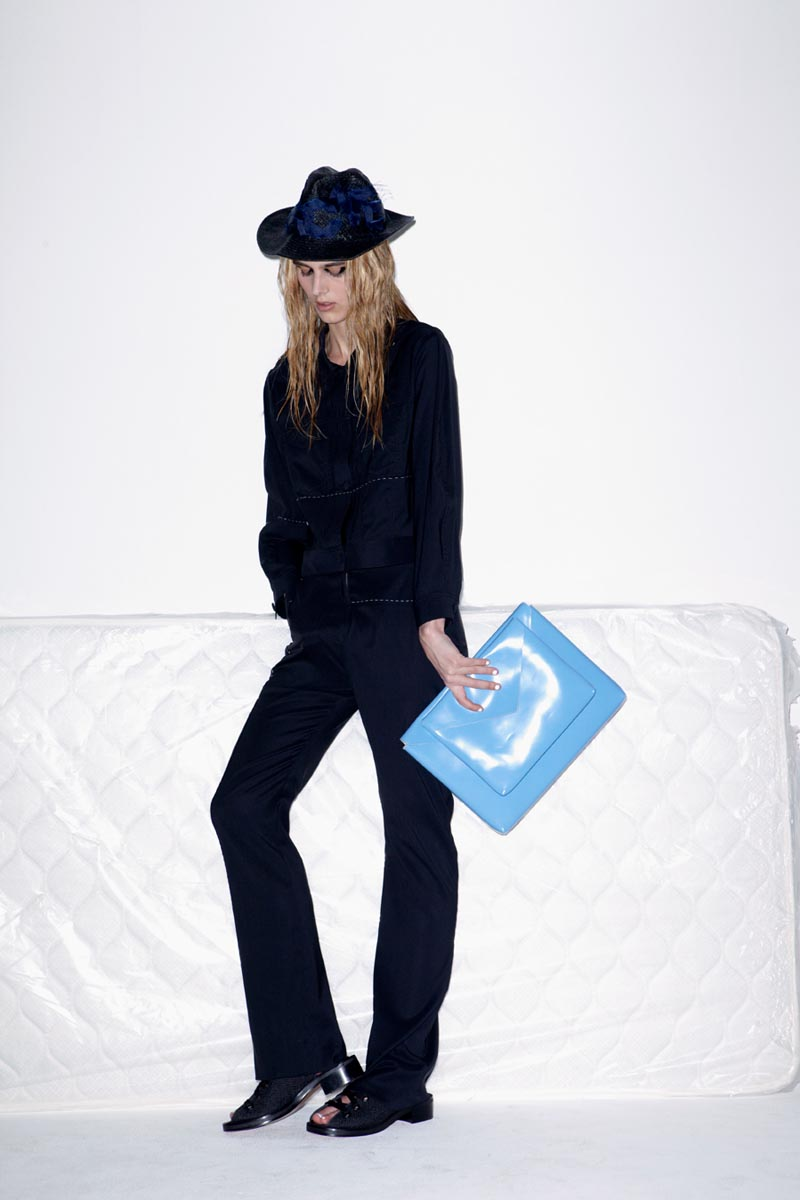 acne11 Acnes Resort 2013 Collection Offers Currency as Prints