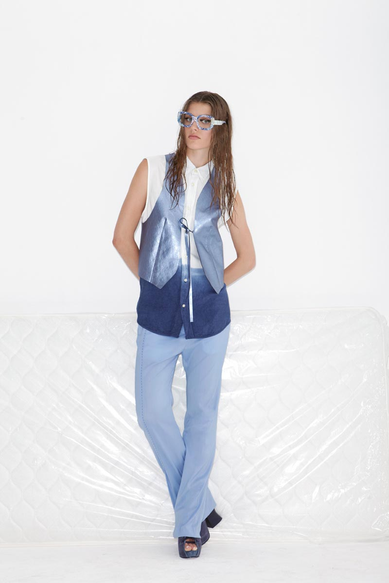 acne12 Acnes Resort 2013 Collection Offers Currency as Prints