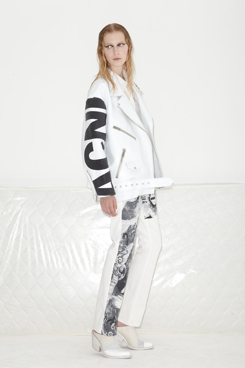 acne9 Acnes Resort 2013 Collection Offers Currency as Prints