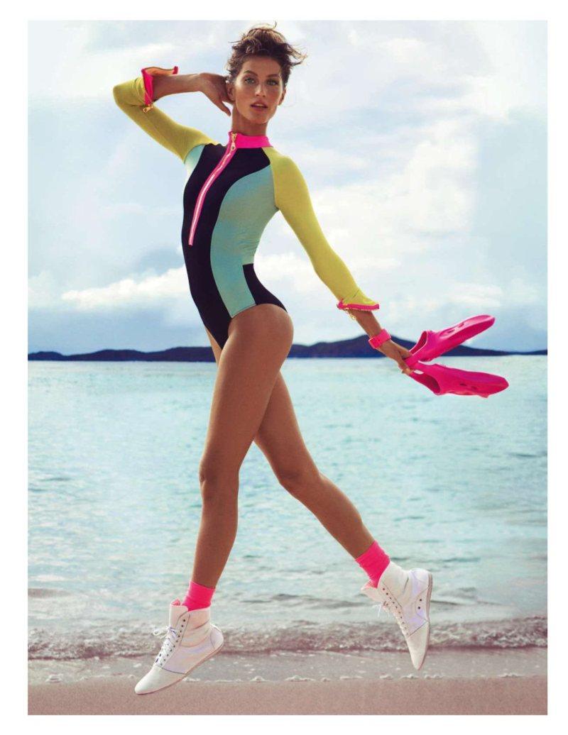 gisele bundchen8 Gisele Bundchen Wows in Vogue Paris June July Issue by Inez & Vinoodh