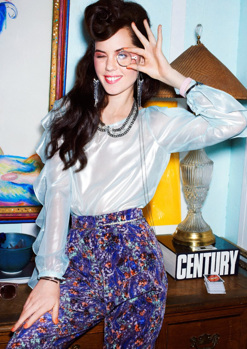bcbg7 Taylor Warren Dresses with Fun for the BCBGeneration Fall 2012 Campaign
