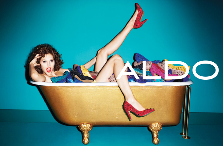aldo6 Aldo Enlists Anais Pouliot for its Fall and Holiday 2012 Campaigns by Terry Richardson