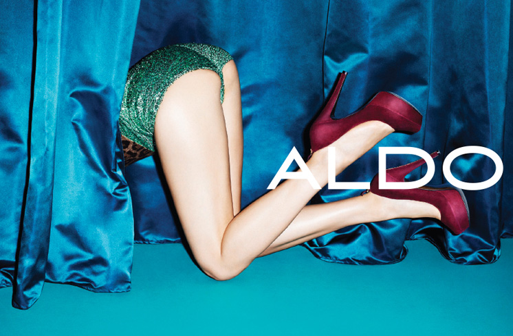 aldo7 Aldo Enlists Anais Pouliot for its Fall and Holiday 2012 Campaigns by Terry Richardson