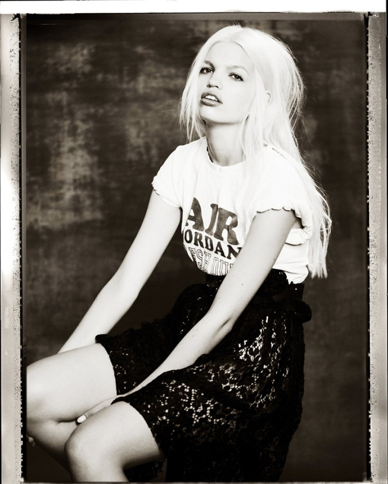 daphne groeneveld7 Daphne Groeneveld Rocks Cool Fashion for Mariano Vivancos Muse Shoot