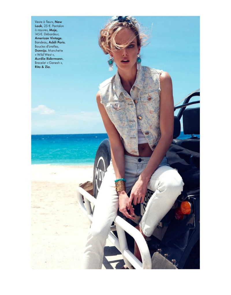 ShannanElle06 Shannan Click Dons Flirty Summer Looks for Elle France June 2012 by Nagi Sakai