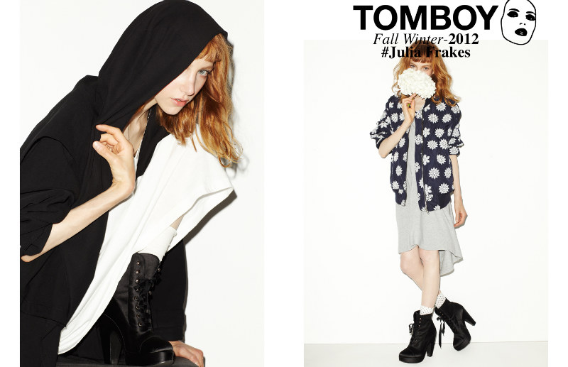 Tomboy01 Julia Frakes Gets a Casual Edge in the TOMBOY F/W 2012 Campaign