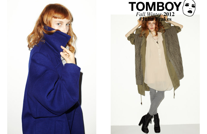 Tomboy05 Julia Frakes Gets a Casual Edge in the TOMBOY F/W 2012 Campaign