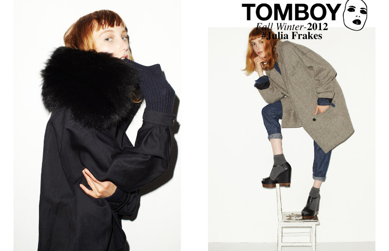 Tomboy07 Julia Frakes Gets a Casual Edge in the TOMBOY F/W 2012 Campaign