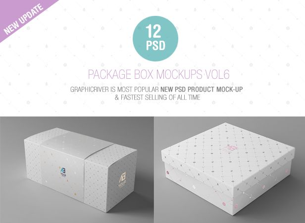 Package Box Mockups Vol6 - 1