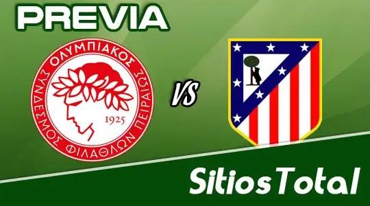 Previa Olympiacos vs Atletico Madrid