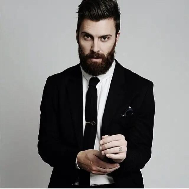 tendencias barba hombre