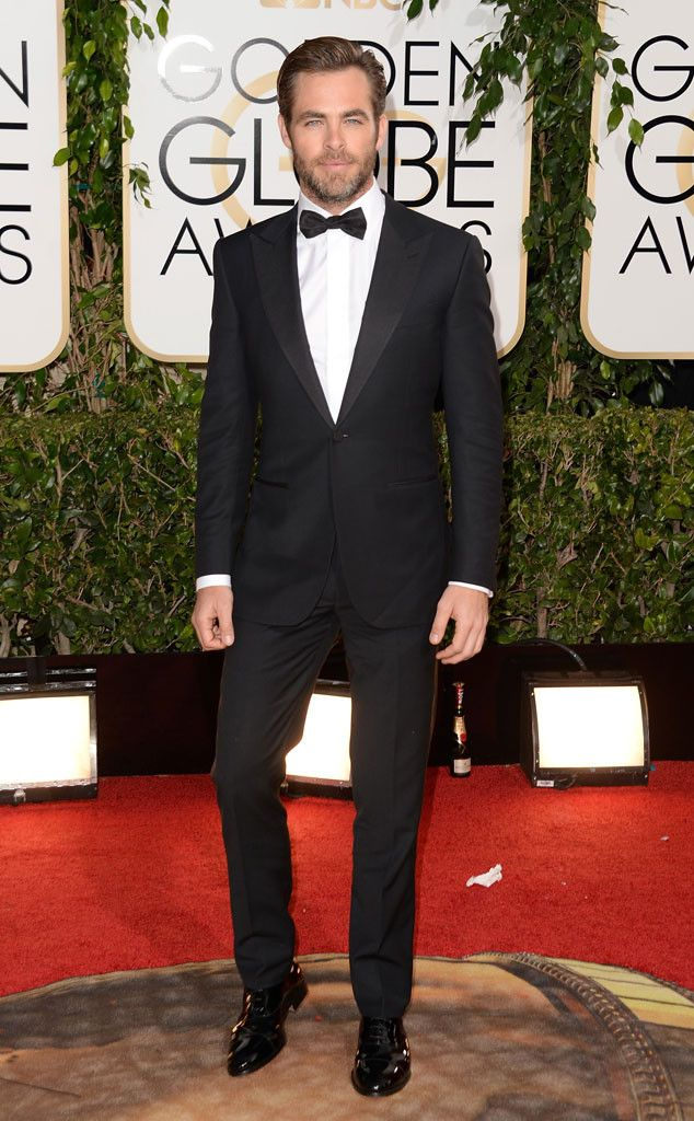 chris pine golden globes