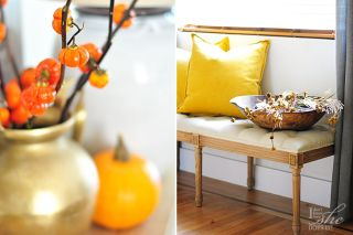 Small house Autumn house tour