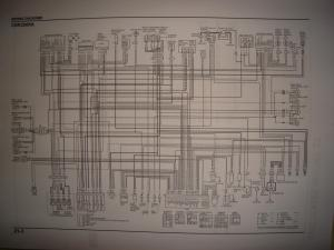 Wiring diagram request  2012 CBR 250RA  Honda CBR250R
