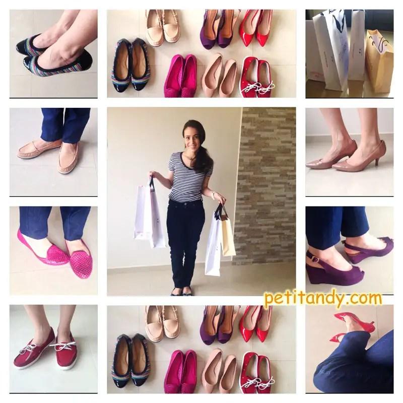 """Minha mãe: """"Seus sapatos já estão velhos.... Não está na hora de trocar?"""". Já adoro sapatos, então ME JOGUEI NAS COMPRAS!!! http://petitandy.com"""