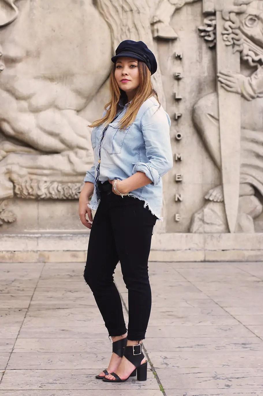 jeans & navy look