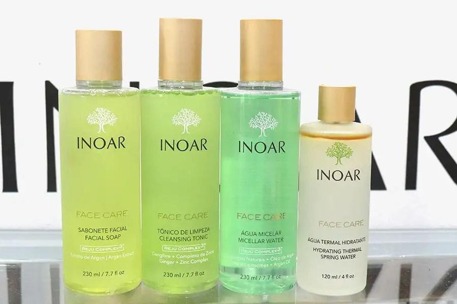 Os lançamentos da INOAR estão tão legais que vai ficar difícil de escolher! Tem sabonete, tônico facial, água micelar, água thermal, creme para o corpo, creme para celulite, hidratante facial, hidratante corporal, creme para as mãos e até maquiagem! http://petitandy.com