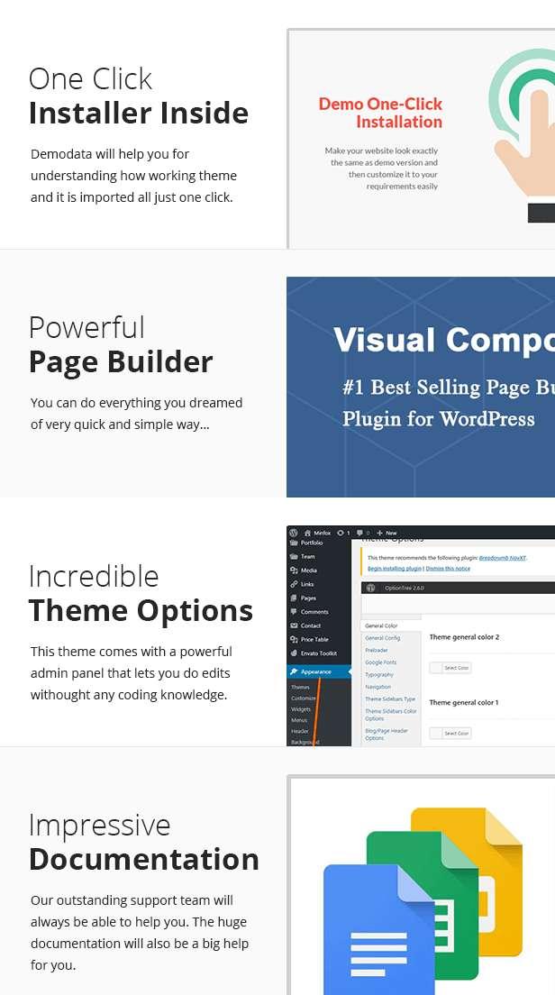 Ekme - One Page WordPress Landing Pages Theme - 3