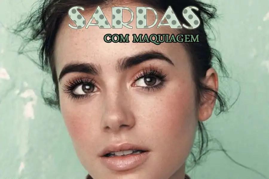 Sardas são tendência! Se você não tem, aprenda a fazer as suas sardas com maquiagem! http://petitandy.com