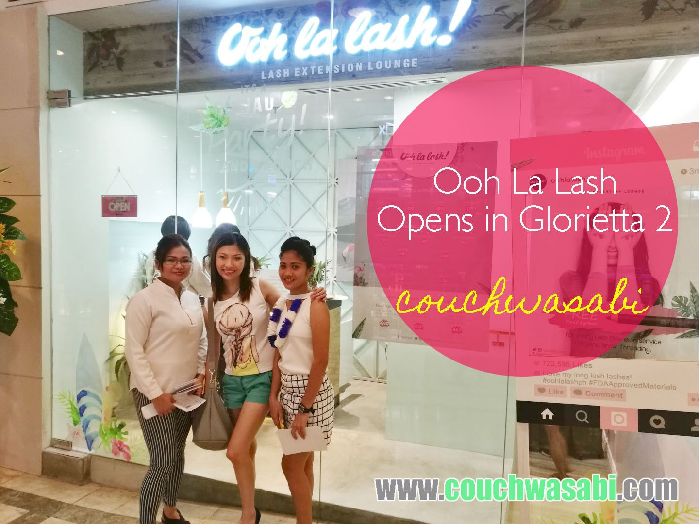 Ooh La Lash Opens In Glorietta 2 Couchwasabi Asian Beauty
