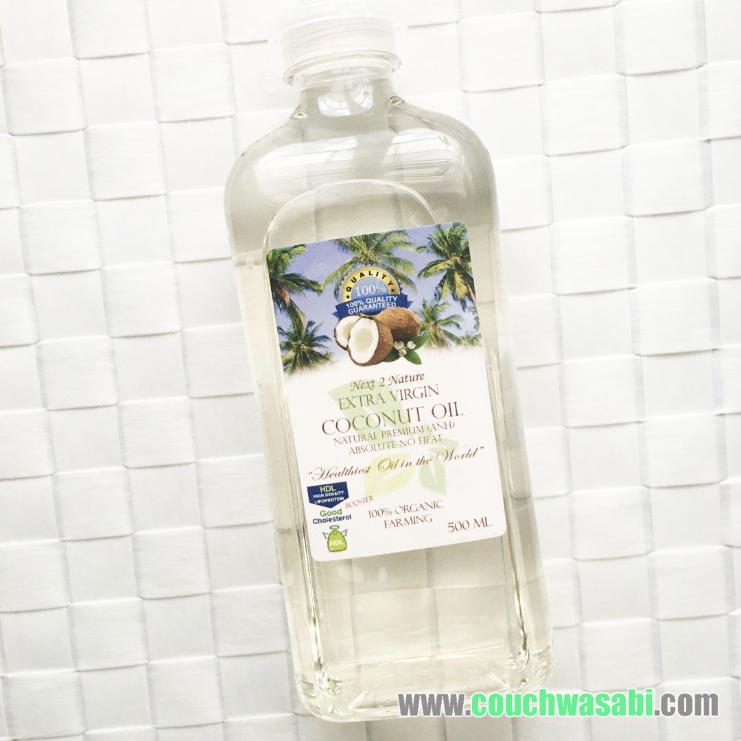 A Lazy Girls Guide In Choosing The Best Vco Couchwasabi Asian Virgin Coconut Oil 125 Ml I Picked This Up Recently From Parksons Duty Free Clark Pampanga For Only Usd658 With Usd Php Conversion Of Php4625 That Day So Thats Around
