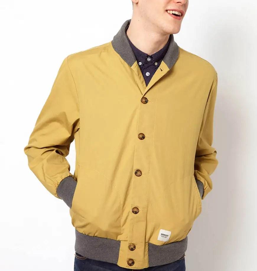 casaca amarilla