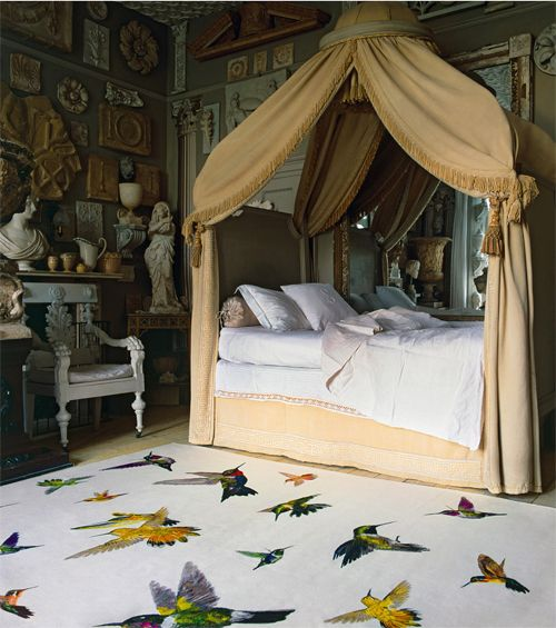 The Rug Company y Alexander McQueen-Hummingbird Ivory