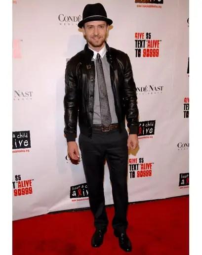 Justin Timberlake estilo