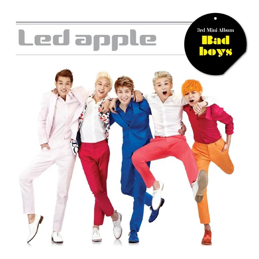 Led Apple - Bad Boys [3rd Mini Album]