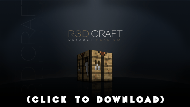 R3D.CRAFT Resource Pack 1.8.8, 1.8.7, 1.8.3, 1.8, 1.7.10, 1.6.4