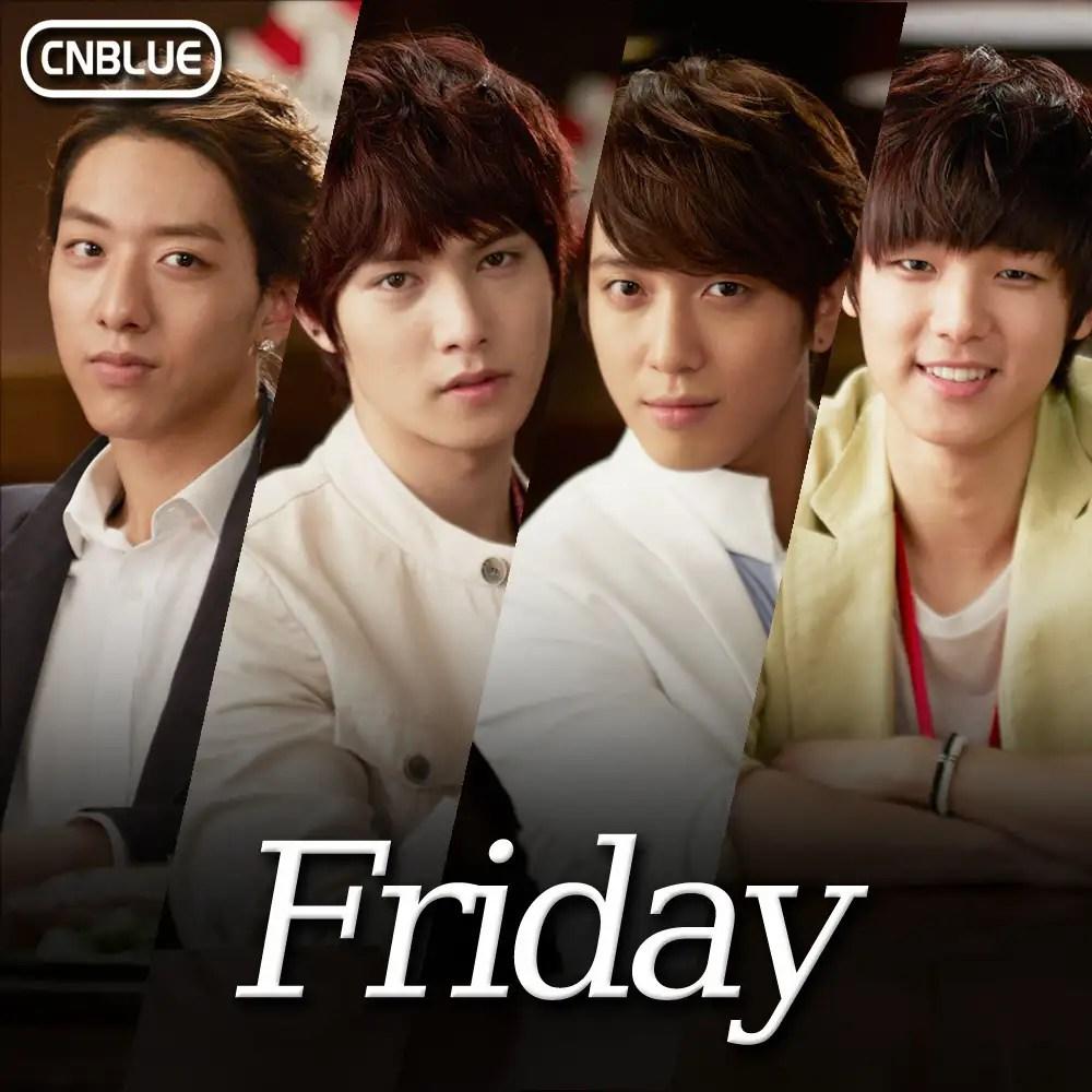 [Single] CN BLUE - Friday