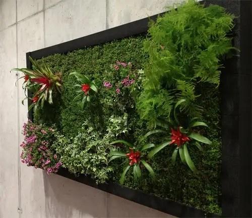 Jardines verticales y huertos urbanos decofeelings - Jardin vertical en casa ...