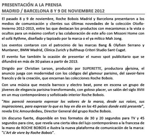 Roche Bobois España