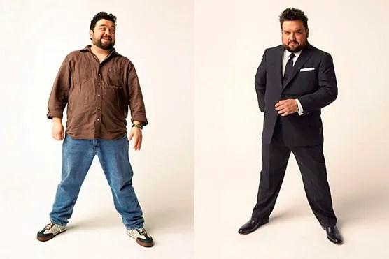 hombre gordo moda