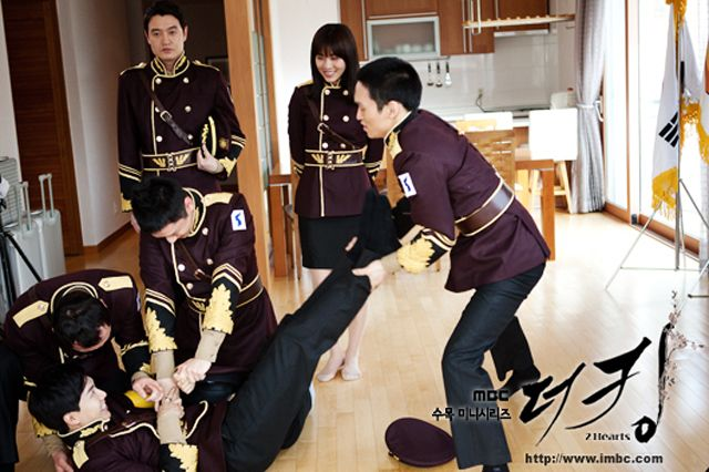 The King 2Hearts WOC Team Get Into A Tickle Tussle UPDATED Couch Kimchi